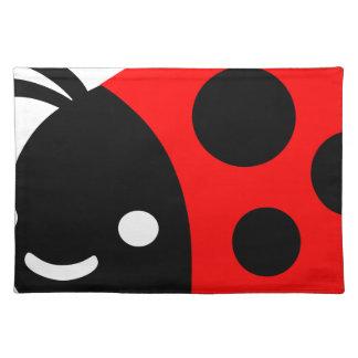 Cute ladybug placemat