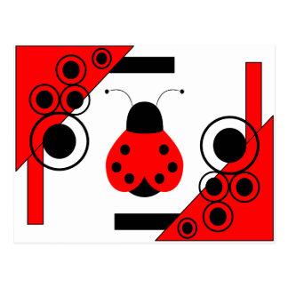 Cute Ladybug Postcard