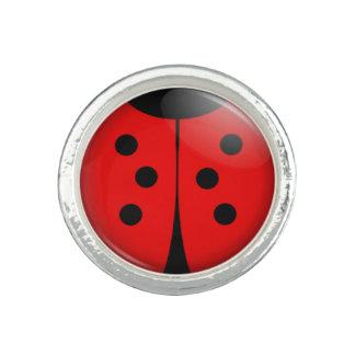 Cute Ladybug Ring