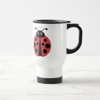 Cute Ladybug Travel Mug