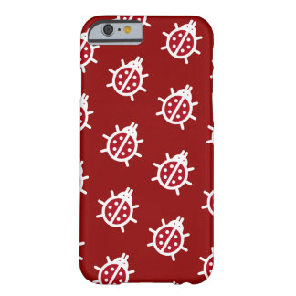 Cute Ladybugs Nature Theme Barely There iPhone 6 Case