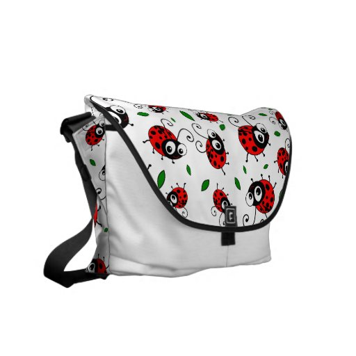 Cute ladybugs pattern bag messenger bags