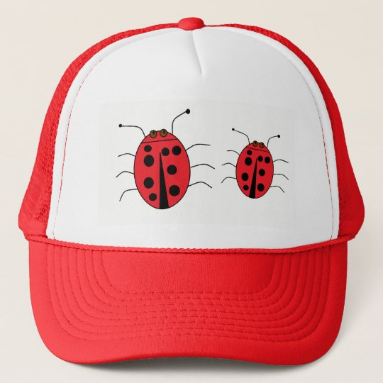 Cute Ladybugs Red Cap