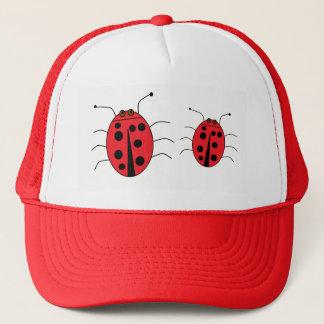 Cute Ladybugs Red Trucker Hat