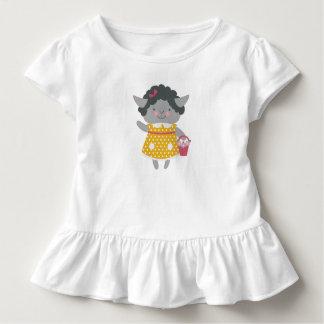 Cute Lamb Ruffle T-Shirt
