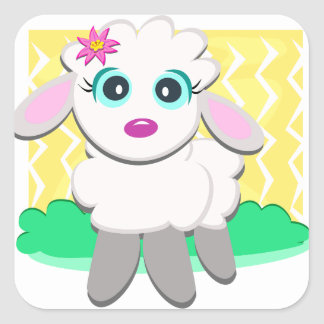 Cute Lamb Stickers
