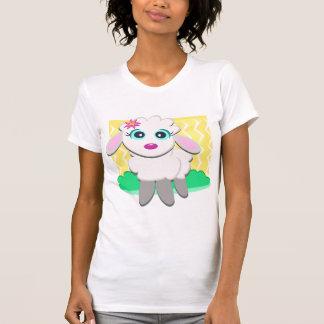 Cute Lamb Womens T-Shirt