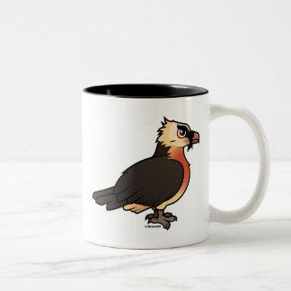 Cute Lammergeier Two-Tone Coffee Mug