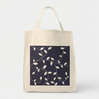 cute leaf ornament tote bag