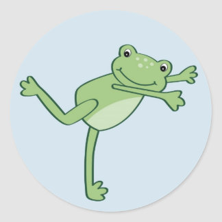 Cute Leap Frog Froggy Stickers Envelope Seals