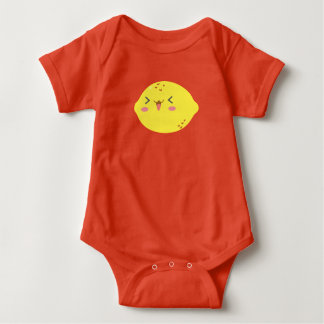 Cute lemon baby grow baby bodysuit