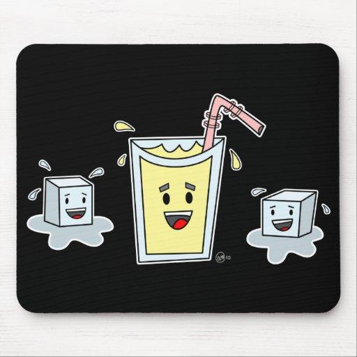 Cute Lemonade - Mousepad (Black)