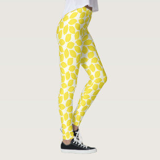Cute Lemonade Pattern Leggings