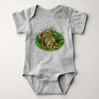 Cute Leopard Baby Bodysuit