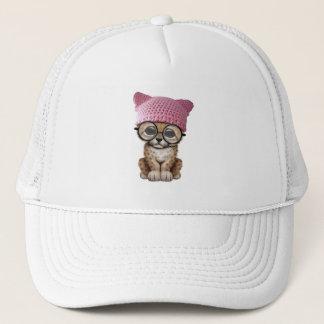 Cute Leopard Cub Wearing Pussy Hat
