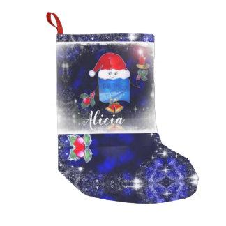 Cute Light Bearer Candle Holder Small Christmas Stocking