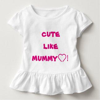 cute like mummy! toddler T-Shirt