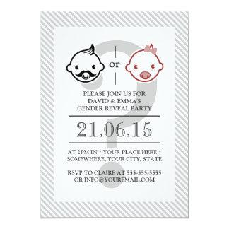 Cute Lil Boy or Lil Girl Baby Shower Invitations