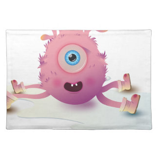 Cute Lil monster Placemat