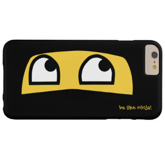 Cute lil Ninja emoji Barely There iPhone 6 Plus Case