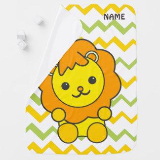 cute lion Baby Blanket
