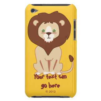Cute Lion iPod Case-Mate Cases
