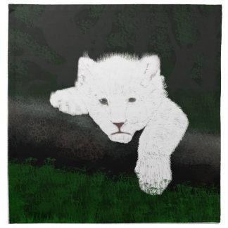 cute lion napkin