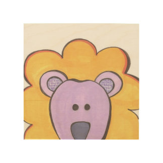 Cute Lion Panel Art
