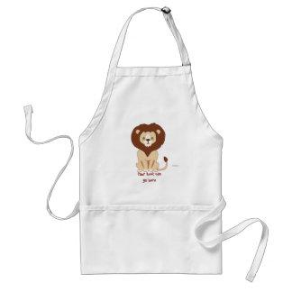 Cute Lion Standard Apron