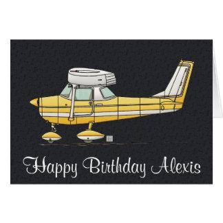Cute Little Airplane Greeting Card