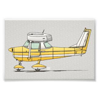 Cute Little Airplane Art Photo