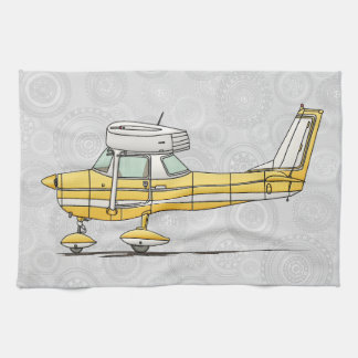Cute Little Airplane Tea Towel