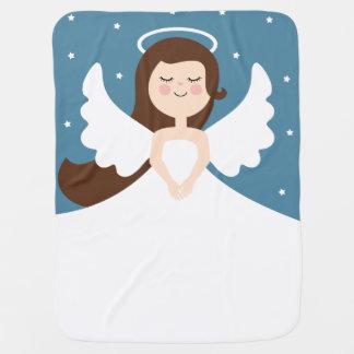 Cute Little Angel Baby Blanket