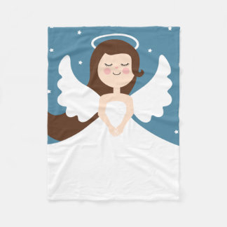 Cute Little Angel Fleece Blanket