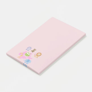 Cute Little Animals and butterflies Post-it Notes