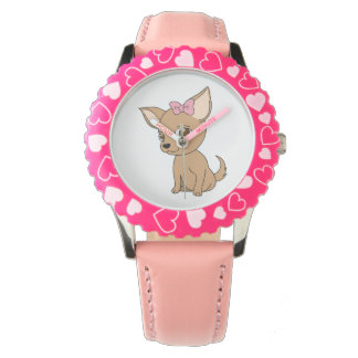 Cute little animated Chihuahua Watch