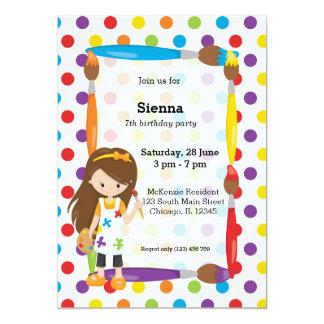 Cute Little Artist Card
