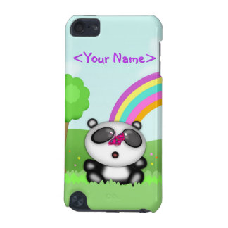 Cute Little Baby Panda Bear Cartoon Animal iPod Touch (5th Generation) Cases