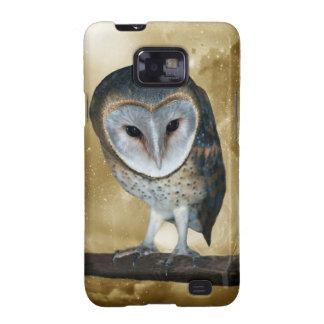 Cute little Barn Owl fantasy Samsung Galaxy SII Cases