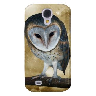 Cute little Barn Owl fantasy Galaxy S4 Cases