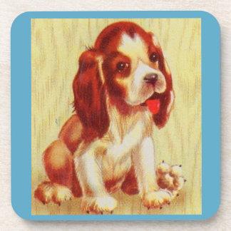 cute little beagle puppy coaster
