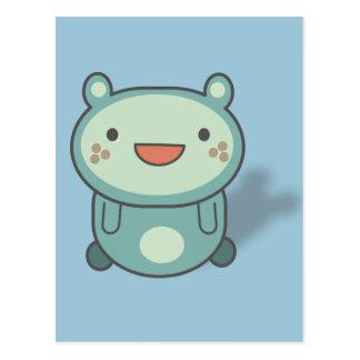 Cute little Bear Creature Postcard