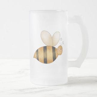 Cute Little Bee Coffee Mugs