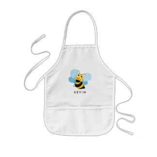 Cute Little BEE Personalized Kids Apron