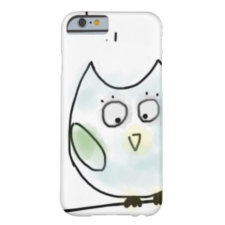 Cute Little Blue Owl Barely There iPhone 6 Case