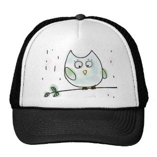 Cute Little Blue Owl Cap