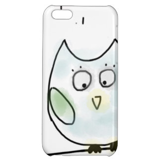 Cute Little Blue Owl Cover For iPhone 5C