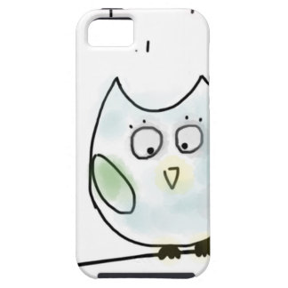 Cute Little Blue Owl iPhone 5 Cover