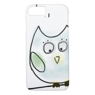 Cute Little Blue Owl iPhone 7 Case