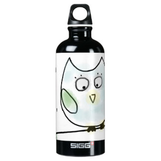 Cute Little Blue Owl SIGG Traveller 0.6L Water Bottle